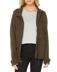 Michael Stars Stretch Twill Military Jacket