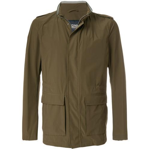 Herno Striped Detail Lightweight Jacket