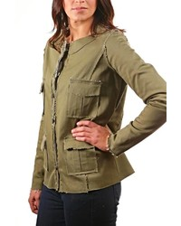 Trouble At The Mill Army Tunnel Jacket