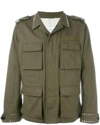 Valentino Rockstud Military Jacket