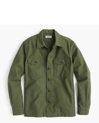 J.Crew Wallace Barnes Military Shirt Jacket
