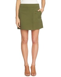 1 STATE 1state Pleat Front Mini Skirt