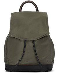 Rag & Bone Green Mini Pilot Backpack