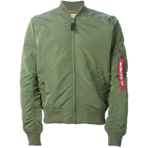 042721cd5 $170, Alpha Industries Classic Bomber Jacket Green