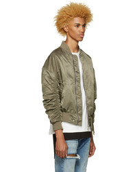 d42359243 Fear Of God Ssense Green 4th Collection Bomber Jacket, $1,095 ...