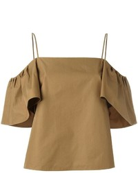 Fendi Off Shoulder Blouse