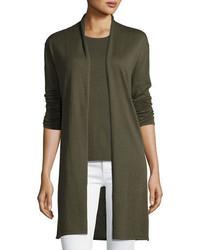 Cashmere collection superfine cashmere open cardigan medium 1211401