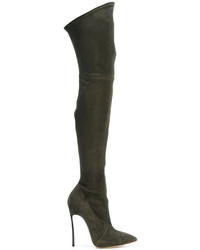 Casadei Over The Knee Blade Boots