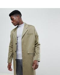 Noak Cotton Duster Coat In Khaki