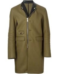 DSQUARED2 Biker Style Overcoat