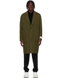 Études Green Wool Archeology Coat