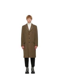 Jil Sander Khaki Wool Coat