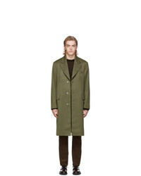 Our Legacy Khaki Wool Dolphin Coat