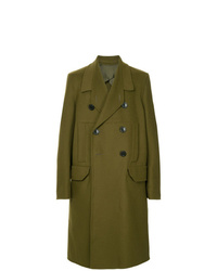 Rick Owens Officer Double Breasted Coat