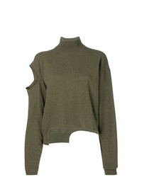 Erika Cavallini Distressed Oversized Sweater