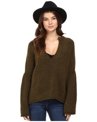 Free People Lovely Lines Pullover Sweater