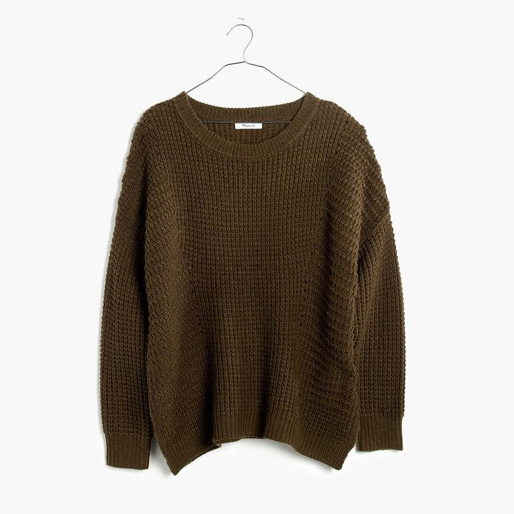 Madewell Stitchmix Pullover Sweater
