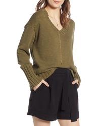 Treasure & Bond V Neck Sweater