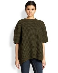 Marc by Marc Jacobs Walley Waffle Knit Oversized Sweater