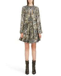 Chloé Paisley Minidress
