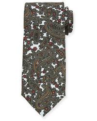 Paisley print silk tie medium 1149284