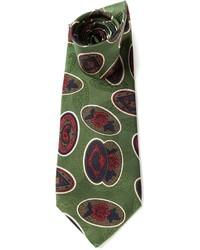 Valentino Paisley Print Tie