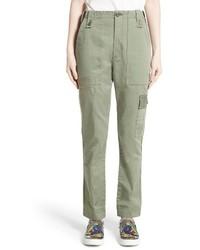 Marc Jacobs Cotton Sateen Cargo Pants