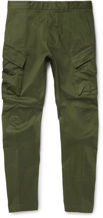 6146cb0b5ee5 ... Nike Lab Acg Tapered Stretch Cotton Cargo Trousers ...