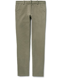 The Elder Statesman Slim Fit Cotton Corduroy Trousers