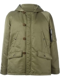 Saint Laurent Bomber Parka Coat