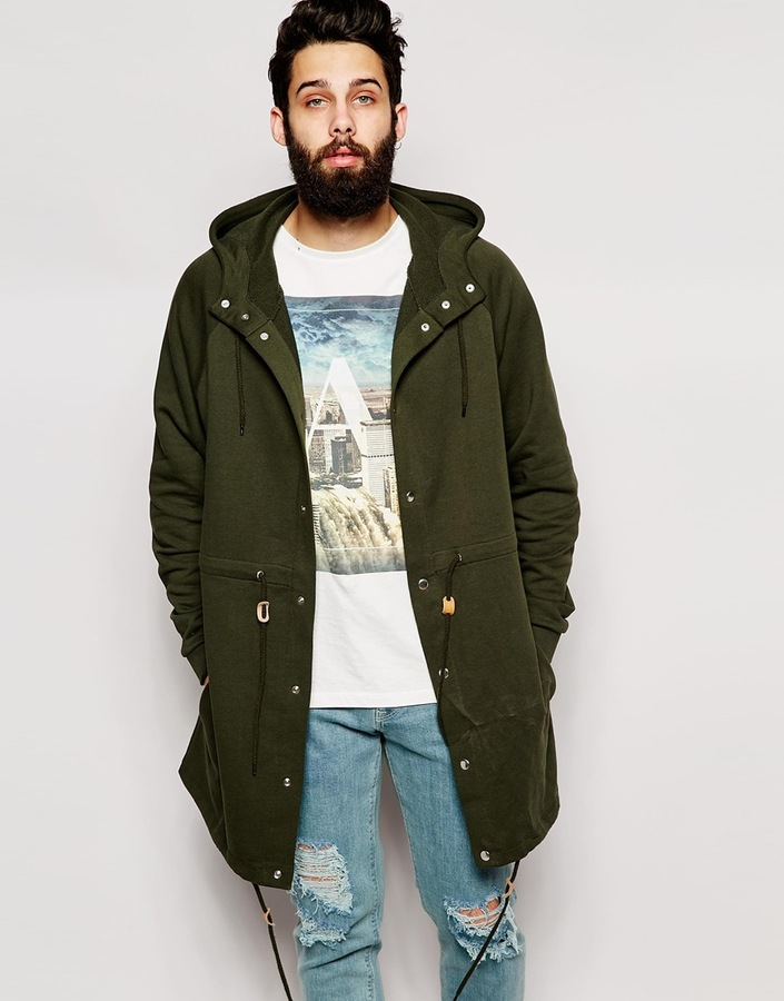 Olive Parka Jacket | Fit Jacket