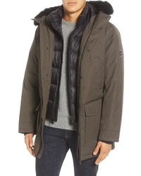 UGG Butte 3 In 1 Down Parka With Genuine