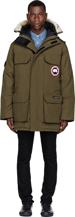 Canada Goose Olive Green Expedition Parka | Where to buy & how to wear