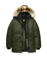Canada Goose Chateau Fusion Fit Parka With Genuine Coyote