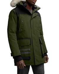 Canada Goose Erickson Down Parka With Genuine Coyote