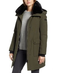 Sam Edelman Faux Canvas Parka