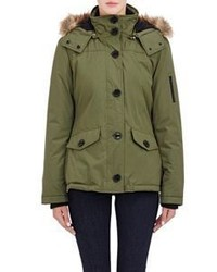 Barneys New York Faux Fur Trimmed Parka
