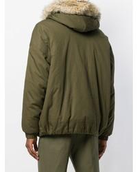 Holland & Holland Fur Hood Jacket