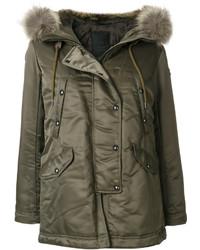 Fur hooded parka medium 5252470
