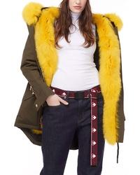 Moose Knuckles Genuine Fox Fur Lined Parka
