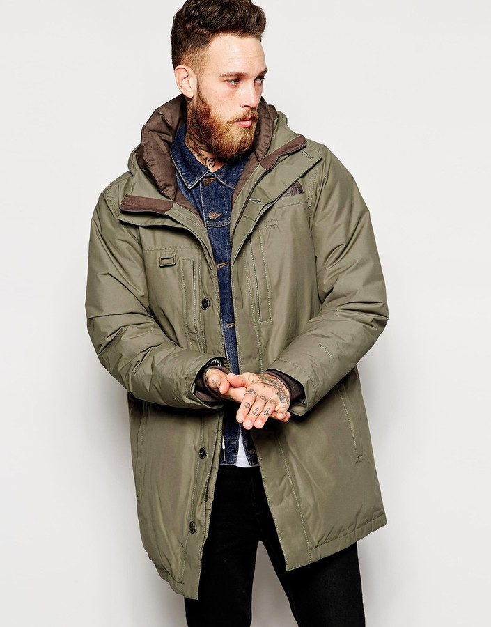 North face himalayan parka used