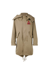 Givenchy Illuminati Patch Parka Jacket