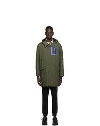 McQ Khaki Apollo Parka Coat