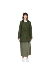 Moncler Khaki Mascate Coat