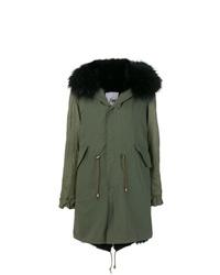 Furs66 Lined Hooded Parka
