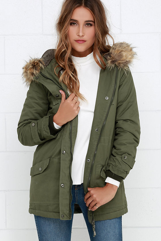 Olive Green Parka Jacket | Jackets Review