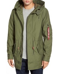 Alpha Industries M 59 Hooded Fishtail Parka