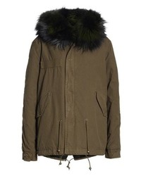 MR AND MRS ITALY Mr Mrs Italy Parka With Genuine Fox Rabbit Fur Lining