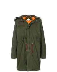 Gucci Oversized Retro Parka Coat