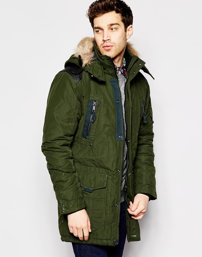 Esprit Parka With Faux Fur Hood | Where to buy & how to wear
